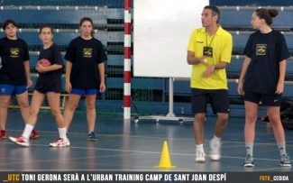 Neix l'AreaBalonmano Urban Training Camp a Sant Joan Despí